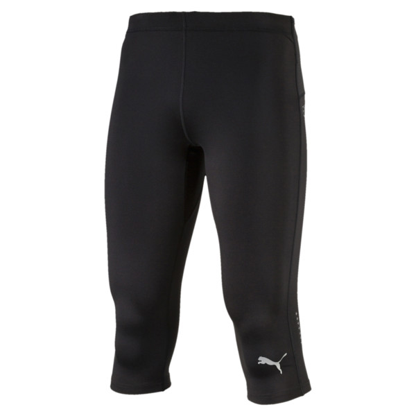 IGNITE 3/4 Men's Running Leggings, Puma Black, large