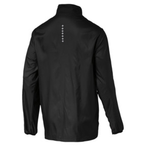 Thumbnail 2 of Running Men's IGNITE Jacket, Puma Black--black, medium