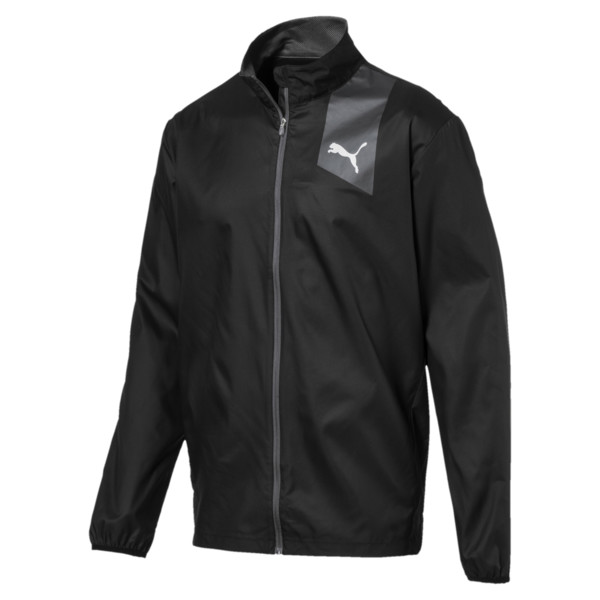 Running Men's IGNITE Jacket, Puma Black--black, large