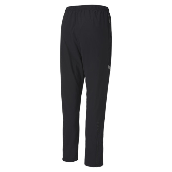 IGNITE Woven Men's Running Pants, Puma Black, large