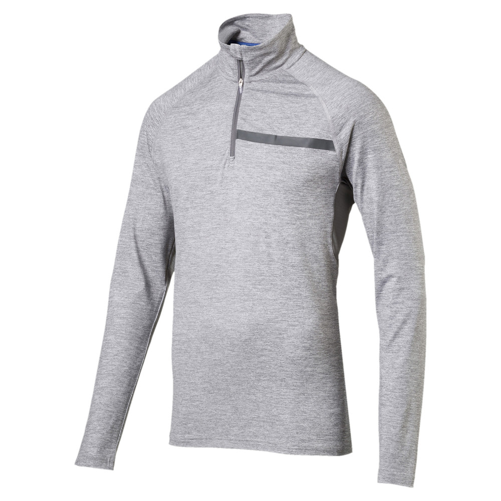 Image PUMA Running Men's IGNITE Half Zip Long Sleeve #1