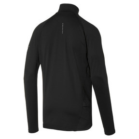 Thumbnail 2 of Ignite Half Zip Men's Top, Puma Black, medium