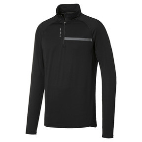 Thumbnail 1 of T-Shirt à manches longues Running IGNITE Half Zip pour homme, Puma Black, medium