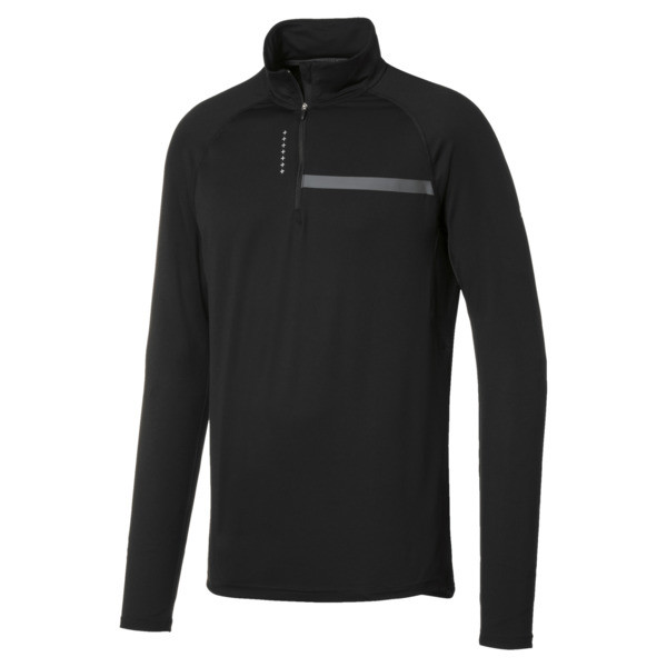 Ignite Half Zip Men's Top, Puma Black, large