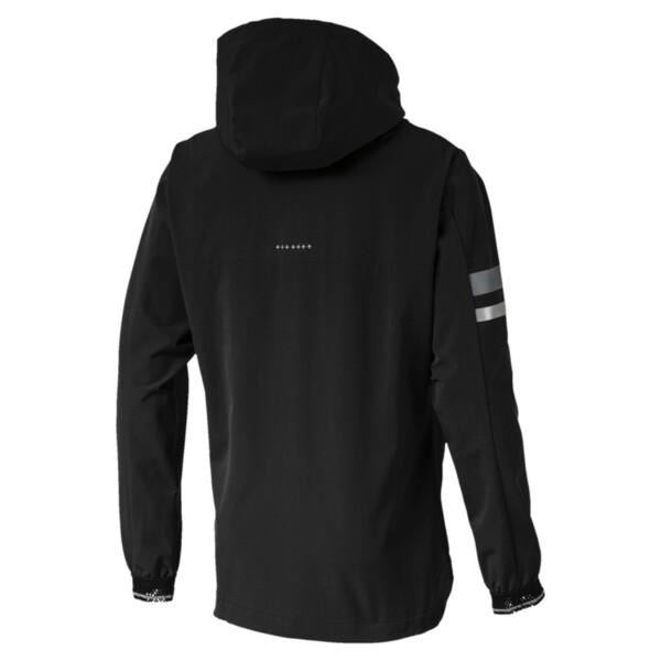 LastLap  Zip-Up Men's Hooded Jacket, Puma Black, large