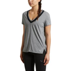 Thumbnail 2 of Slouchy-V Mesh T-Shirt, MGH-Puma Black, medium