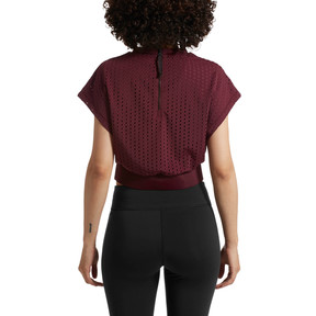 Thumbnail 3 of A.C.E. Luxe Mesh Women's Training Tee, Fig, medium