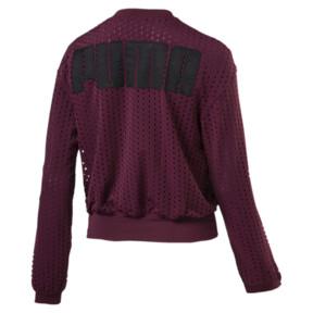 Thumbnail 4 of Luxe Zip-Up Women's Jacket, Fig, medium