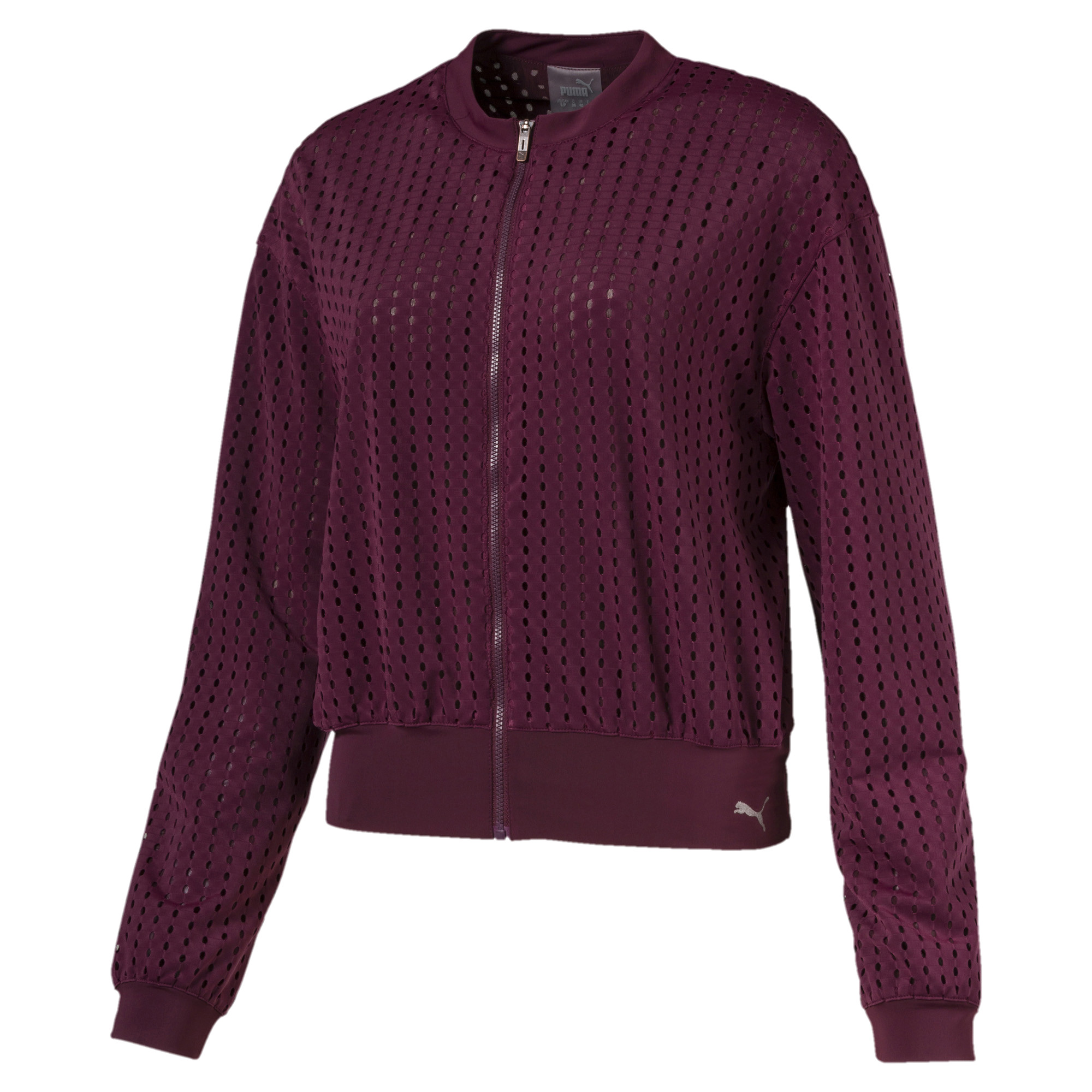 Image Puma Luxe Zip-Up Women's Jacket #4