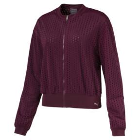 Thumbnail 1 of Luxe Zip-Up Women's Jacket, Fig, medium