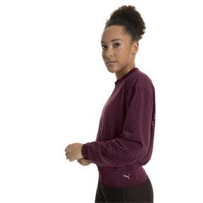 Thumbnail 2 of Luxe Zip-Up Women's Jacket, Fig, medium