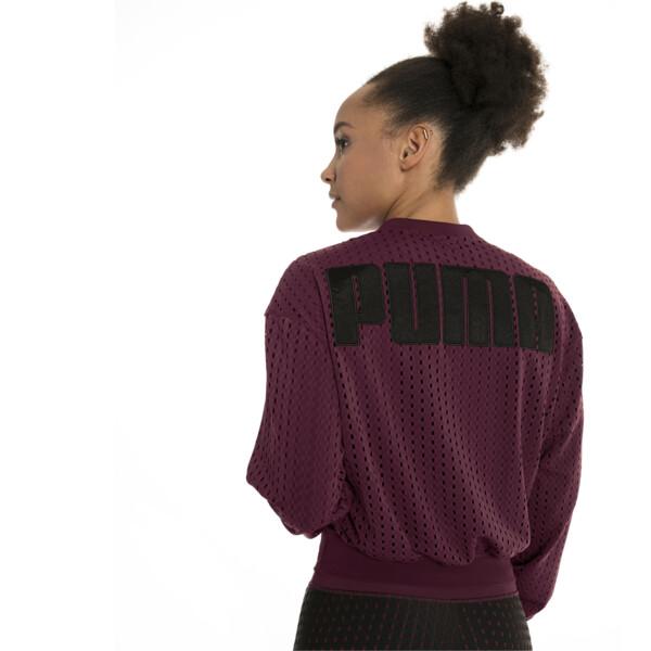 Luxe Zip-Up Women's Jacket, Fig, large