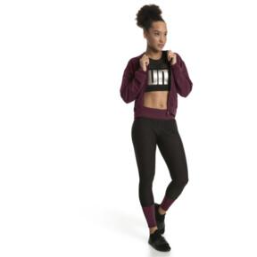 Thumbnail 5 of Luxe Zip-Up Women's Jacket, Fig, medium