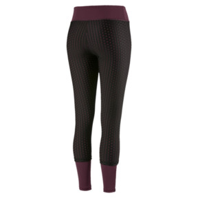 Thumbnail 4 of Luxe Mesh Women's Tights, Fig-Puma Black, medium