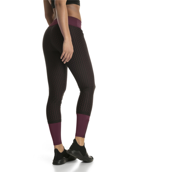 Luxe Mesh Women's Tights, Fig-Puma Black, large