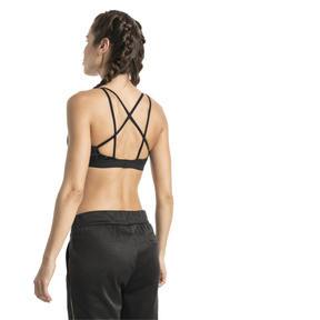 Thumbnail 3 of Training Damen Strappy Low Impact Graphic BH-Top, iron gate-black, medium