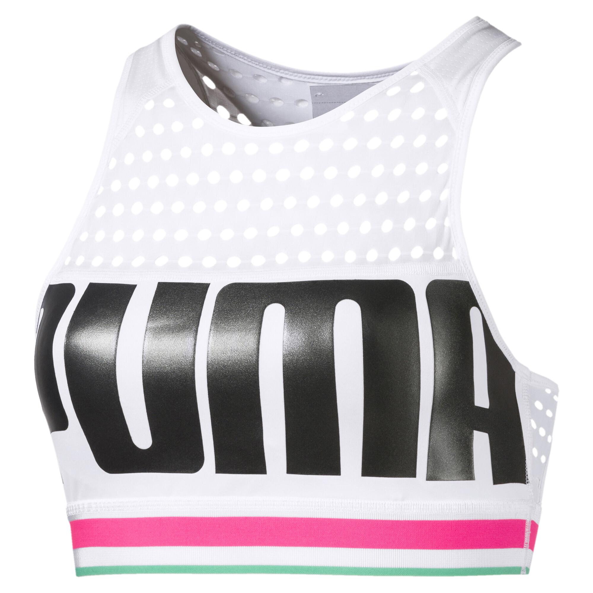 Image Puma Mid Impact Women's Bra Top #1