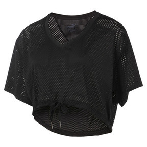 Thumbnail 1 of A.C.E. Mesh Layer T-Shirt, Puma Black, medium