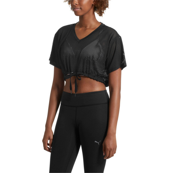 A.C.E. Mesh Layer T-Shirt, Puma Black, large