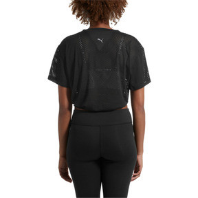 Thumbnail 3 of A.C.E. Mesh Layer T-Shirt, Puma Black, medium