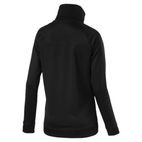 Thumbnail 4 of Training Women's Explosive Warm-Up Jacket, Puma Black, medium