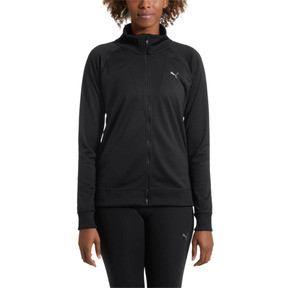 Thumbnail 2 of Training Women's Explosive Warm-Up Jacket, Puma Black, medium