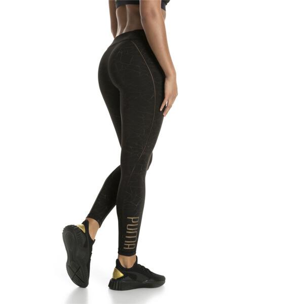 Explosive Avow Night Women's Tights, black-bronze medal-refl, large