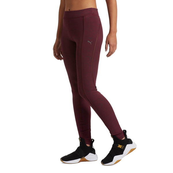 Explosive Avow Night Women's Tights, fig-black reflective, large