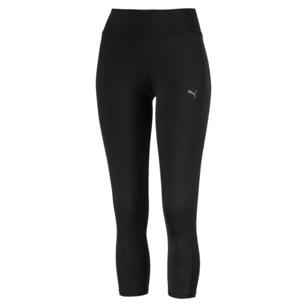 Always On Solid 3/4 Women's Tights, Puma Black, large