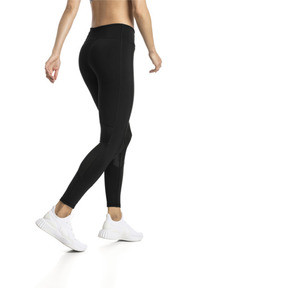Thumbnail 2 of Always On Solid Women's 7/8 Training Leggings, Puma Black, medium