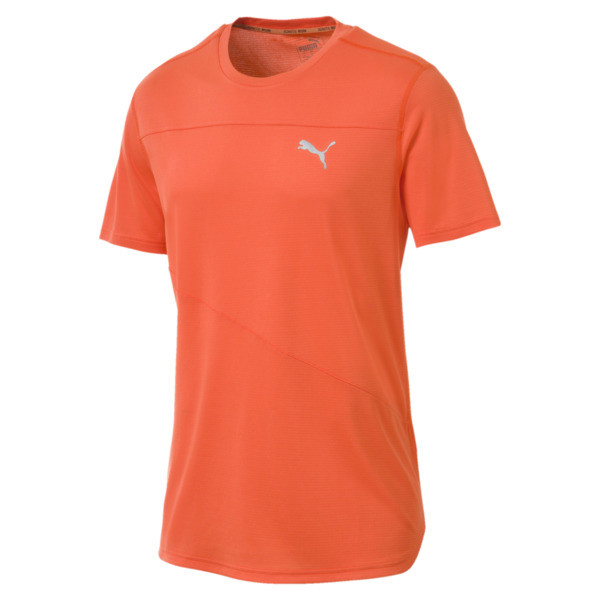 Running Men's IGNITE Mono T-Shirt, Firecracker, large