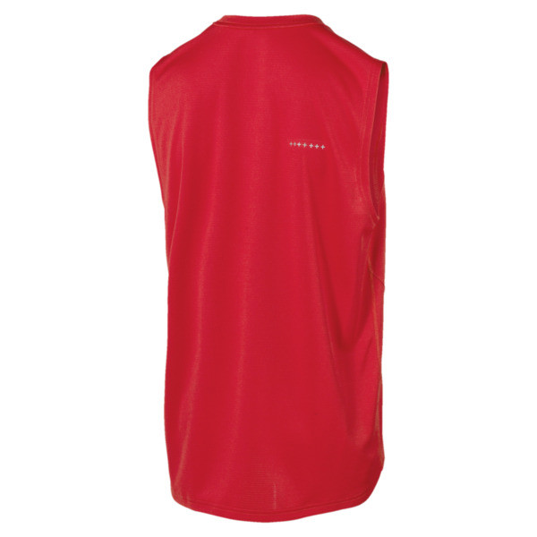 IGNITE Mono Men's Running Singlet, High Risk Red, large