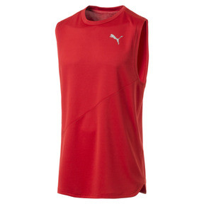 Thumbnail 4 of T-Shirt de course sans manche IGNITE Mono pour homme, High Risk Red, medium