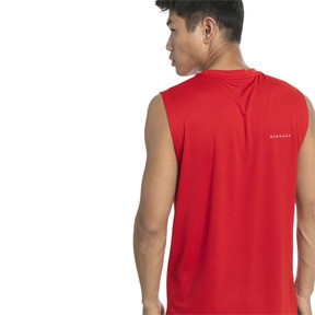 Thumbnail 2 of T-Shirt de course sans manche IGNITE Mono pour homme, High Risk Red, medium