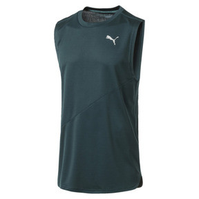 Thumbnail 4 of IGNITE Mono Men's Running Singlet, Ponderosa Pine, medium