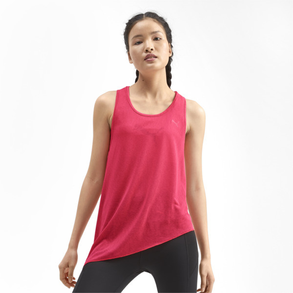 Training Women's A.C.E. Mono Tank Top, Pink Alert, large