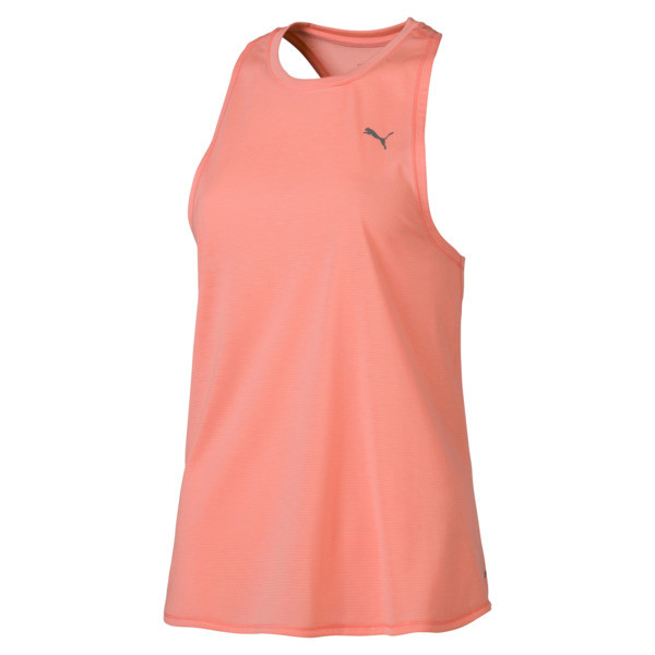 Running Women's IGNITE Mono Tank Top, Bright Peach, large