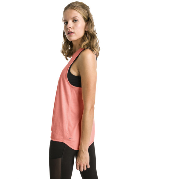 Running Damen IGNITE Mono Tank-Top, Bright Peach, large