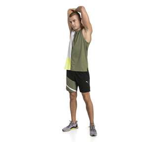 Thumbnail 3 of IGNITE Men's Running Singlet, Olivine-Puma White, medium