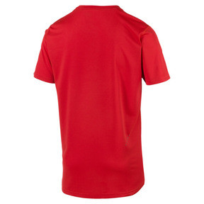Thumbnail 4 of Ignite Men's Tee, High Risk Red-Puma White, medium