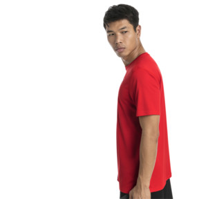 Thumbnail 3 of Ignite Men's Tee, High Risk Red-Puma White, medium