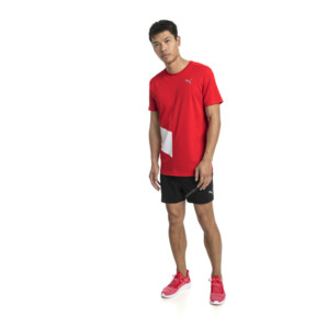 Thumbnail 5 of Ignite Men's Tee, High Risk Red-Puma White, medium