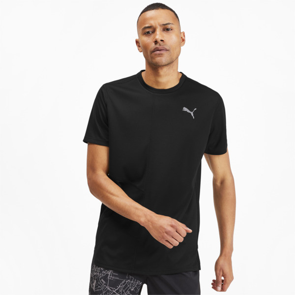 IGNITE Herren Running T-Shirt, Puma Black, large