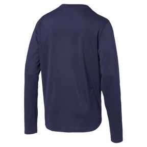 Thumbnail 5 of IGNITE Long Sleeve Men's Tee, Peacoat-Blue Turquoise, medium