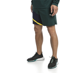 Thumbnail 1 of IGNITE Woven Men's Training Shorts, Ponderosa Pine-Peacoat, medium