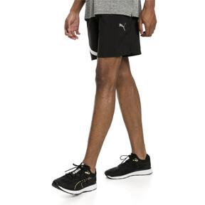 "Thumbnail 2 of Ignite Blocked Men's 7"" Shorts, Puma Black-Puma White, medium"