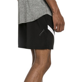 "Thumbnail 3 of Ignite Blocked Men's 7"" Shorts, Puma Black-Puma White, medium"