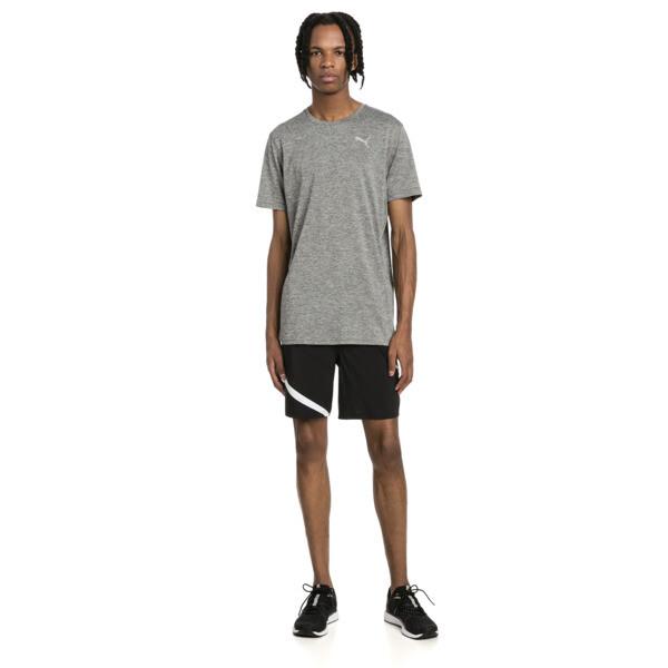 "Ignite Blocked Men's 7"" Shorts, Puma Black-Puma White, large"