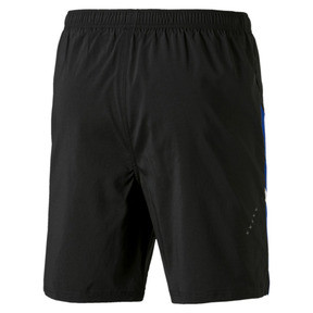 "Thumbnail 3 of Ignite Blocked Men's 7"" Shorts, Puma Black-Surf The Web, medium"