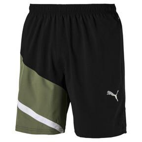 "Thumbnail 2 of Ignite Blocked Men's 7"" Shorts, Puma Black-Olivine, medium"